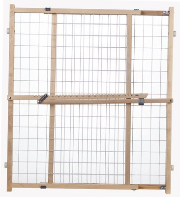 This Classically Styled Gate Is Adjustable To Fit Openings From 29.5  50  Inches Wide And Is 32 Inches Tall. It Mounts Securely Between Walls To  Provide A ...