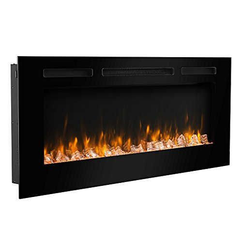 50 inch wall fireplace - 8