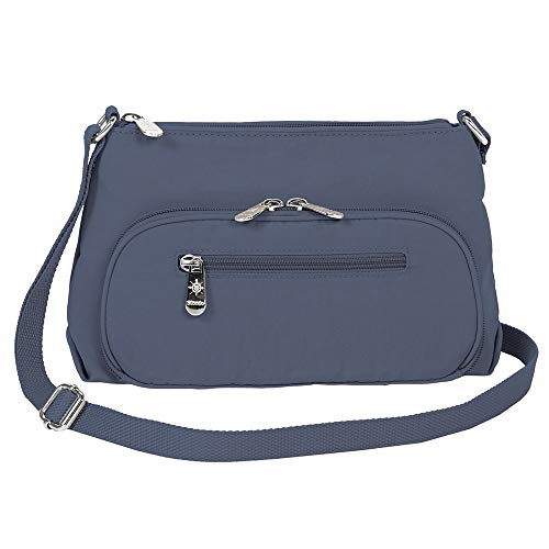Mondo Nylon Small Crossbody Lightweight Multi Function Travel Handbag