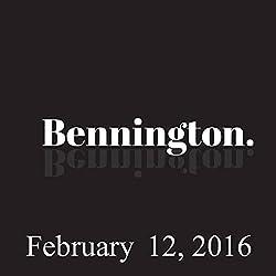 Bennington, February 12, 2016