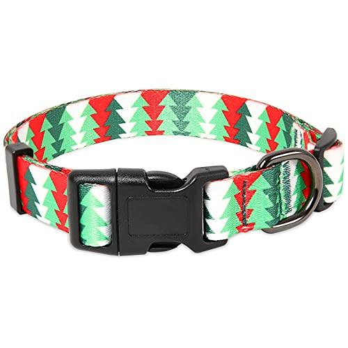 collar para perro ajustable broche metal tree talle L