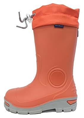 Amazon.com | Kids Boys Girls Wellington Boots Rainy Snow