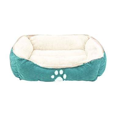Sofantex Pet Line Beds Paw Print, Blue, 25  L, Medium