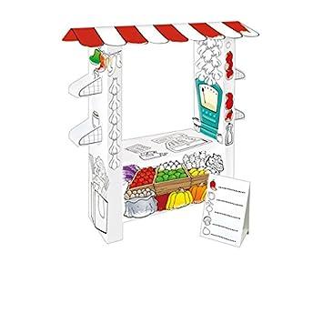 Kartonhaus Casa de juegos para Pintar \