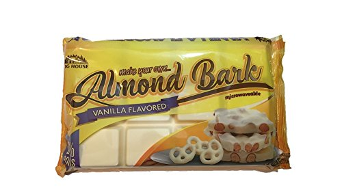 Bark Coating Chocolate - Log House Vanilla Flavored Almond Bark 24 oz package