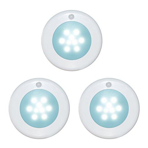 WRalwaysLX Wireless Motion Sensor LED Cabinet Light Stick-Anywhere Nightlight for (Under Cabinet Light Rail)