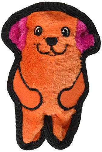 Invincibles Minis Stuffingless Durable Tough Plush Dog Squeaky Toy by Outward Hound, 1 Squeaker, Dog