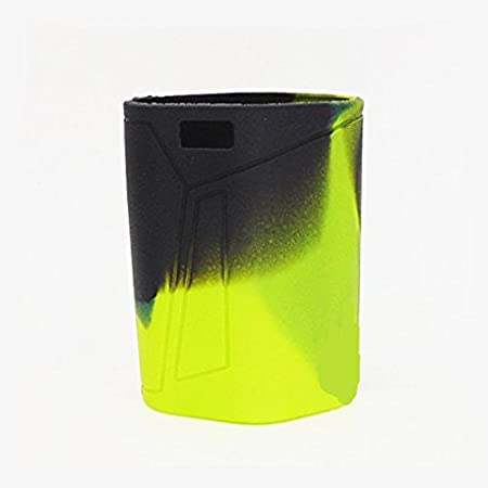 Silicone Protective Sleeve Case Cover for SMOK GX350 Box Mod Kit (black green) DEKPRO