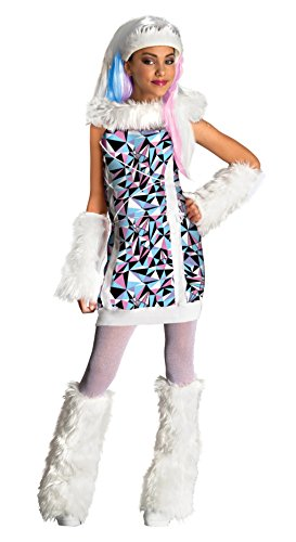 Monster High Abbey Bominable Costumes (Monster High Abbey Bominable Child Costume - Small (4-6))
