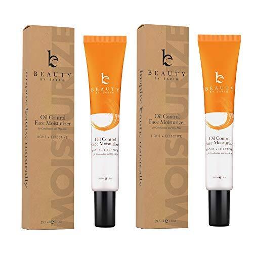 Oil Control Face Moisturizer – Natural Organic Anti Aging Facial Moisturizer for Men Women, Best Face Moisturizer for Oily Skin or Acne Moisturizer, Mens Face Moisturizer with Hyaluronic Acid