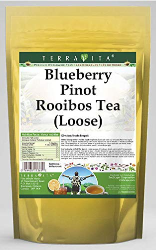 Blueberry Pinot Rooibos Tea (Loose) (8 oz, ZIN: 543707) - 3 Pack