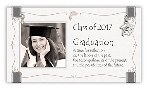 Cathedral Art 2017 Graduation Glass Photo Frame by Cathedral Art