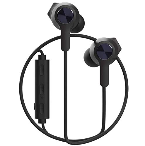Bluetooth Headphones Magnetic Wireless Earbuds IPX7 Waterproof in-Ear, Sports Wireless Running Headset, Noise Canceling Headphones with Microphone,6-8Hour Battery (Q11 Black)