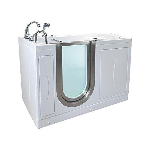 Hydro Walks (Ella HM3117-HB Royal Acrylic Hydro Massage+Microbubble Therapy Walk-in Bathtub, 32