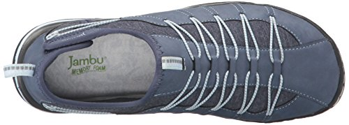 Denim Jambu Blue Women's Illusion Vegan Spirit Flat HpOUnFB