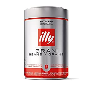 illy Medium Roast Whole Bean Coffee 8.8 Ounces
