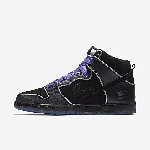 Nike 833456-002 - Zapatillas de deporte Hombre Negro (Black / Black-White-Purple Haze)