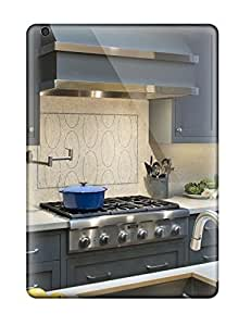 Special Design Back Honed Backsplash And Custom Oven Hood With Chrome Straps Phone Case Cover For Ipad Air by lolosakes