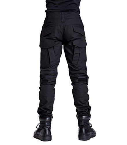 YuanDiann Homme Tactique Pantalon De Camouflage Militaire Multi-Poches Respirant Imperméable Armée Battle Trekking… 2