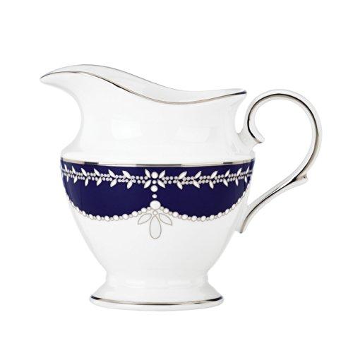 Lenox Marchesa Empire Creamer Cup, Pearl Indigo - China Pearl China Creamer