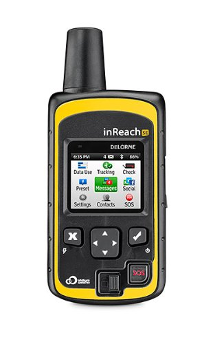 best Satellite Messenger - DeLorme InReach SE two-way communicator