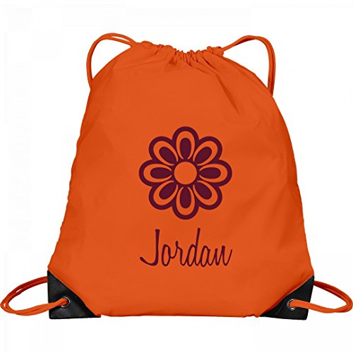 Flower Child Jordan: Port & Company Drawstring Bag by FUNNYSHIRTS.ORG