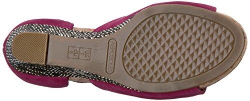 Aerosoles Women's Spring Plush Wedge Sandal Dk Pink Suede gMOgCpg
