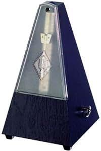 METRONOMO PLASTICO PIRAMIDE - Wittner (806/K) (Sistem Malzel) (Sin Campana) (Tapa Transparente)(Negro)