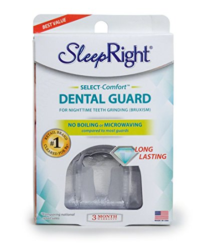 SleepRight Select No-Boil Dental Guard – Sleeping Teeth Guard – Mouth Guard To Prevent Teeth (Prevent Tooth)