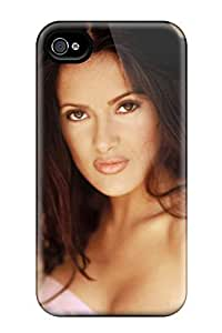 New Salma Hayek Photoshoot Tpu Case Cover, Anti-scratch Smhsisy2694OYyiZ Phone Case For Iphone 4/4s