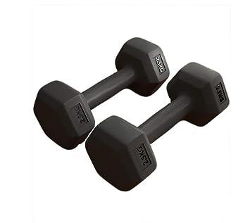 Shocly Mancuernas Pesa Yoga Perder Peso Escultura Corporal Fitness En El Hogar Hombres Y Mujeres 2×2.5Kg/5Kg/7.5Kg/10Kg,2X2.5KG: Amazon.es: Deportes y aire ...