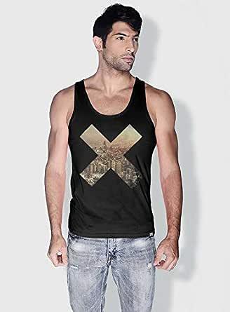 Creo Beirut X City Love Tanks Tops For Men - Xl, Black