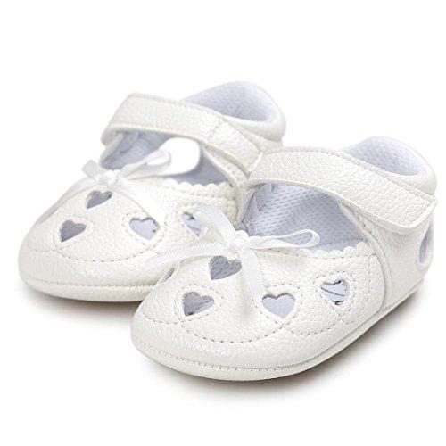 Hunpta Baby Girl Hollow out Sandalen Schuh Schuhe Sneaker Anti-Slip Soft Sole Kleinkind Weiß