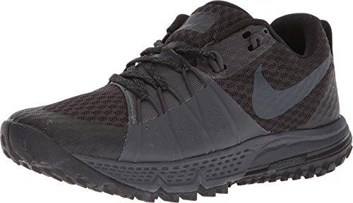 Nike Women's Air Max Zoom Wildhorse 4 Trail Running Shoe (8 M US, Black/Anthracite/Anthracite)