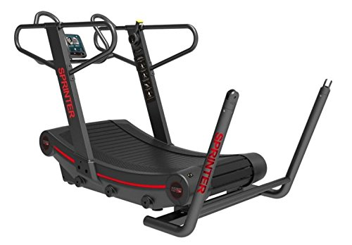 """PowerFit Equipment Curved Sprint Treadmill 