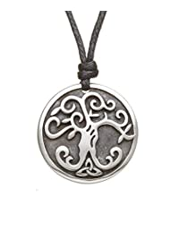 Tree of Life Necklace Pewter