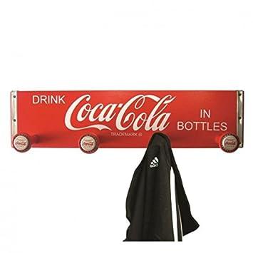 alltoshop Vintage Coca-Cola Perchero de Madera - Coca Cola ...