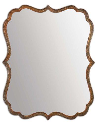Uttermost 12848 Oxidized Copper Spadola Hammered Metal Frame -