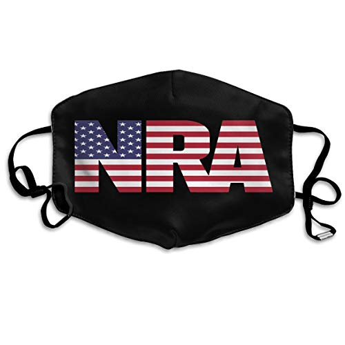 Airsoft Smoking Tank - PAWLALL NRA American Flag Mouth Mask,Polyester Cotton Anti Dust Mouth Mask for Man Woman