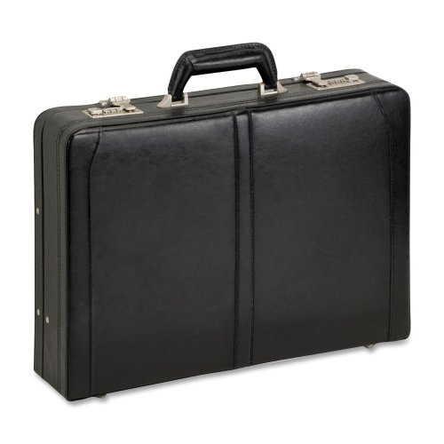 Computer Attache, Leather, Expandable, 18