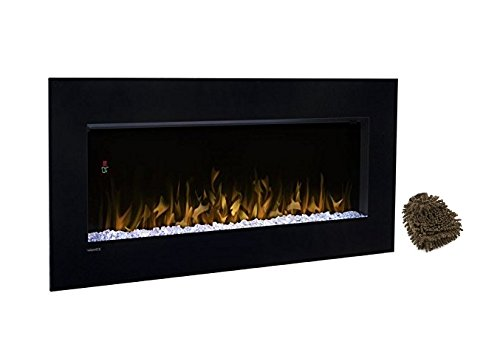 Cheap DIMPLEX NORTH AMERICA DWF3651B Nicole Electric Fireplace (Complete Set) with Premium Microfiber Cleaner Bundle Black Friday & Cyber Monday 2019