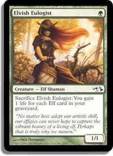 Magic: the Gathering - Elvish Eulogist - Duel Decks: Elves vs Goblins