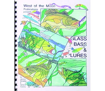 Glass Bass & Lures - Stained Glass Pattern Book