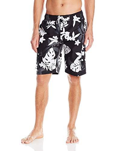 1c6bfb0746 Kanu Surf Men's Echelon Swim Trunks (Regular & Extended Sizes), Voyage  Black,