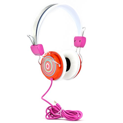 KonoAudio KA ROH 114 Headphones Orange Circles product image