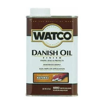 RUST-OLEUM 242219 Watco Pint Natural Danish Oil Wood Finish