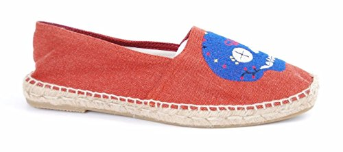 Espadrille The Unisex House Red New Old Skull Prints Red BSSrFn