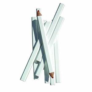 Bon 84–843–Carcasa de con mina de lápices de carpintero 7pulgadas, tamaño mediano), color rojo blanco, 72unidades, modelo: 84–843, Tools & hardware Store