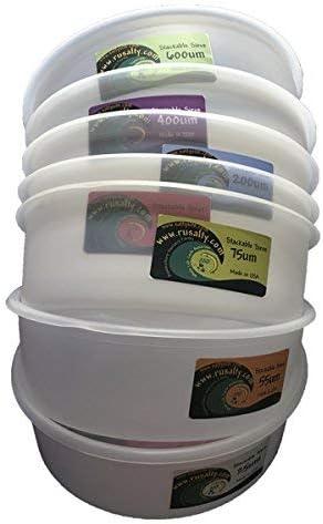 COPÉPODO camarón de salmuera Malla de 250 micras 200mm X 200mm CORAL zooplancton Colador