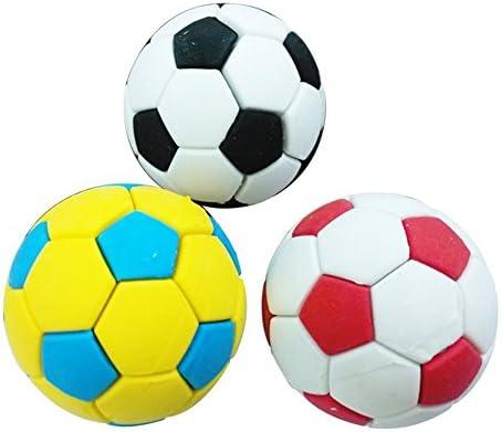 zhouba Juego de balón de fútbol de goma borrador creativo ...